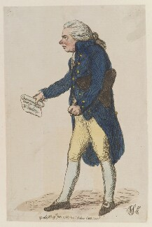 Richard Brinsley Sheridan, by James Gillray, published by  James Aitken - NPG D12974