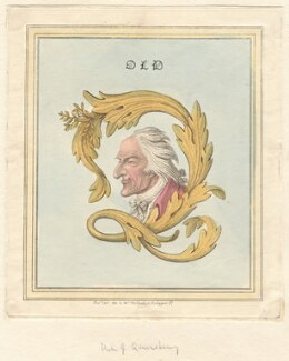 William Douglas, 4th Duke of Queensberry ('Old Q'), possibly by James Gillray, published by  William Holland - NPG D12975