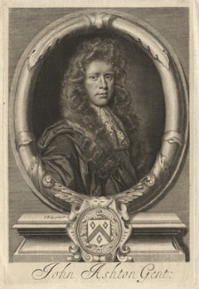 John Ashton, by Robert White, after  John Riley - NPG D13234