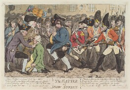 'The battle of Bow-Street', by James Gillray, published by  Hannah Humphrey - NPG D12998