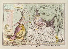 'The Jersey smuggler detected; - or - good cause for (separation) discontent', by James Gillray, published by  Hannah Humphrey - NPG D13023