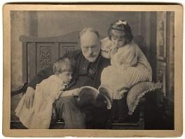 Denis George Mackail; Sir Edward Burne-Jones; Angela Thirkell, by Henry & Richard Stiles - NPG x3690