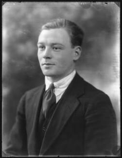 Sir John Stuart Page Wood, 6th Bt, by Bassano Ltd - NPG x121261
