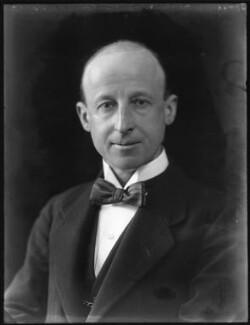 Sir George William Henry Jones, by Bassano Ltd, 25 January 1922 - NPG x121268 - © National Portrait Gallery, London
