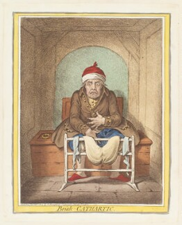 'Brisk-cathartic', by James Gillray, published by  Hannah Humphrey, published 28 January 1804 - NPG  - © National Portrait Gallery, London