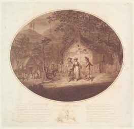 'The deserted village', by James Gillray, published by  Robert Wilkinson - NPG D13049