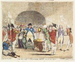 'A new way to pay the National-Debt', by James Gillray, published by  William Holland - NPG D13052