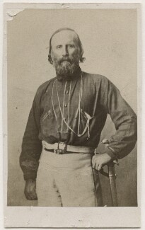 Giuseppe Garibaldi, by Caldesi, Blanford & Co - NPG Ax17833