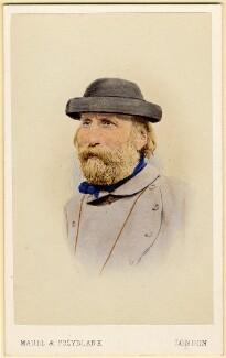 Giuseppe Garibaldi, by Maull & Polyblank - NPG x16480