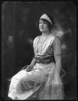 Lady Margaret Cynthia Illingworth (née Lindsay), by Bassano Ltd - NPG x121308