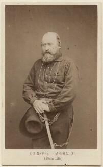 Unknown man, called Giuseppe Garibaldi, by Z. Bioni - NPG Ax16270