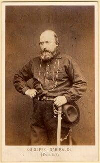 Unknown man, called Giuseppe Garibaldi, by Z. Bioni - NPG x5106