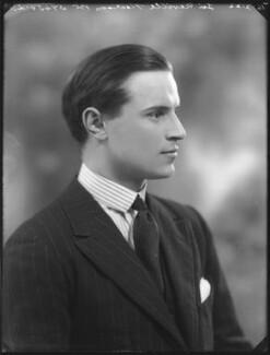 Sir Neville Arthur Pearson, 2nd Bt, by Bassano Ltd - NPG x121336
