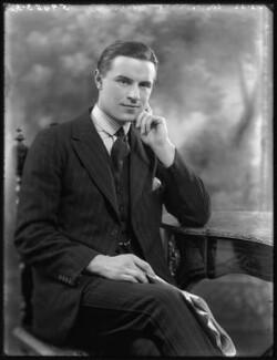 Sir Neville Arthur Pearson, 2nd Bt, by Bassano Ltd - NPG x121337