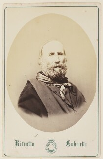 Giuseppe Garibaldi, by Unknown photographer - NPG Ax27744