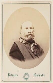 Giuseppe Garibaldi, by Unknown photographer - NPG Ax27744