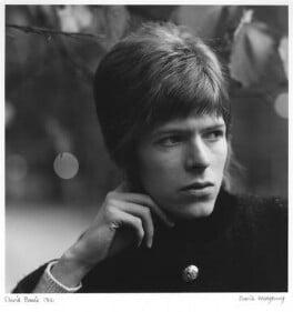 David Bowie, by David Wedgbury, 1966 - NPG x47344 - © National Portrait Gallery, London