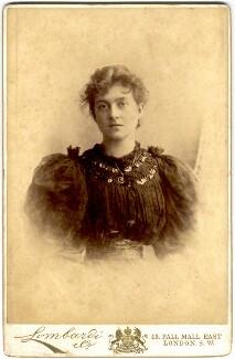 Pamela Grey (née Wyndham, later Lady Glenconner), Viscountess Grey of Fallodon, by Lombardi & Co - NPG x125537