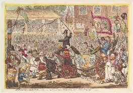 'Middlesex-election. 1804', by James Gillray, published by  Hannah Humphrey, published 7 August 1804 - NPG D13108 - © National Portrait Gallery, London