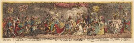 'The grand coronation procession of Napoleone the 1st Emperor of France, from the church of Notre-Dame Decr 2d 1804', by James Gillray, published by  Hannah Humphrey - NPG D13109