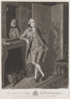 John Stuart, 1st Marquess of Bute, by John Raphael Smith, after  Jean Etienne Liotard - NPG D13244