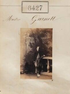 Master Garnett, by Camille Silvy - NPG Ax56363