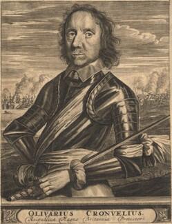 Oliver Cromwell, after Robert Walker - NPG D13246