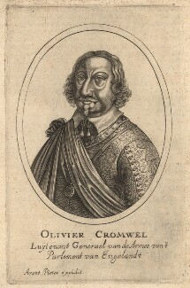 Oliver Cromwell, after Unknown artist - NPG D13248