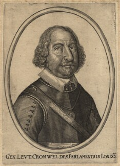 Oliver Cromwell, after Unknown artist - NPG D13249