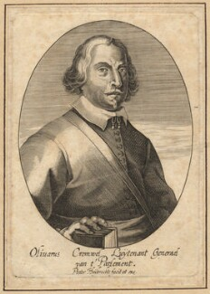 Oliver Cromwell, by and published by Peeter Huybrechts, after  Unknown artist - NPG D13250