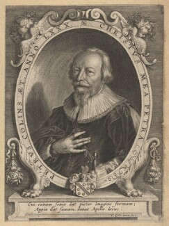 Peter Collins, by Cornelis Galle the Younger, after  Unknown artist - NPG D13254