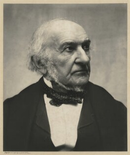 William Ewart Gladstone, by Eveleen Myers (née Tennant), 25 April 1890 - NPG  - © National Portrait Gallery, London