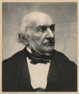 William Ewart Gladstone, by Eveleen Myers (née Tennant), 25 April 1890 - NPG x36433 - © National Portrait Gallery, London