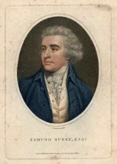 Edmund Burke, by John Chapman, published by  John Wilkes, published 13 December 1798 - NPG D13258 - © National Portrait Gallery, London