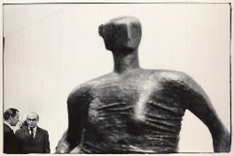 Sir Sidney Robert Nolan; John Rothenstein, by Roger Mayne - NPG x4067