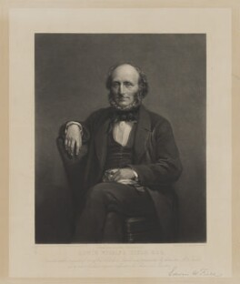 Edwin Wilkins Field, by Charles George Lewis, after  Sir John Watson-Gordon - NPG D13264