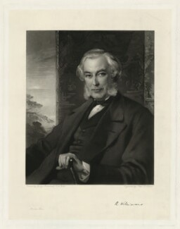 Robert Williams, by John Douglas Miller, after  George Richmond - NPG D13270