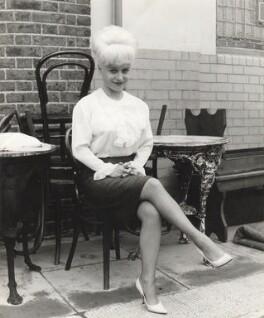 Dame Barbara Windsor (née Deeks), by Daniel Farson - NPG x22194