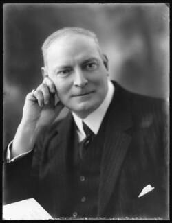 Sir Percy Wilson Newson, 1st Bt, by Bassano Ltd - NPG x121431