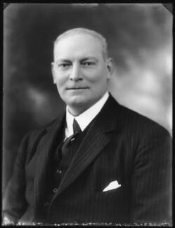 Sir Percy Wilson Newson, 1st Bt, by Bassano Ltd - NPG x121432