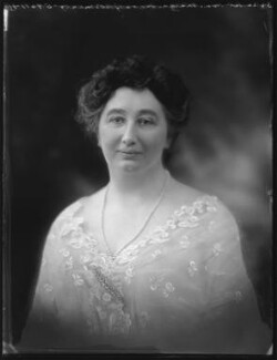 Gertrude Stansfield Phipps (née Foster), Marchioness of Normanby, by Bassano Ltd - NPG x121440