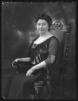 Gertrude Stansfield Phipps (née Foster), Marchioness of Normanby, by Bassano Ltd - NPG x121442