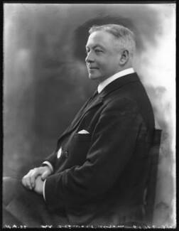 Sir George Stewart Abram, by Bassano Ltd, 10 April 1922 - NPG x121458 - © National Portrait Gallery, London