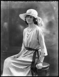 Lady Lettice Cotterell (née Lygon), by Bassano Ltd - NPG x121498
