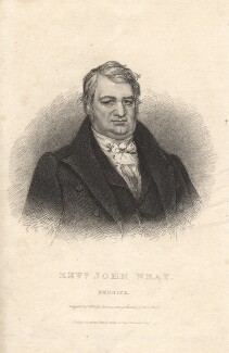 John Wray, by R. Sears, published by  Westley & Davis, after  John Robert Wildman - NPG D13272