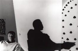 Chris Ofili, by Gautier Deblonde, 1998 - NPG x87709 - © Gautier Deblonde