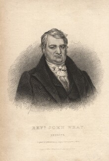 John Wray, by R. Sears, published by  Westley & Davis, after  John Robert Wildman - NPG D13273