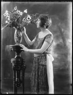 Hon. Dorothy Lowther (née Bromley-Davenport), by Bassano Ltd - NPG x121514