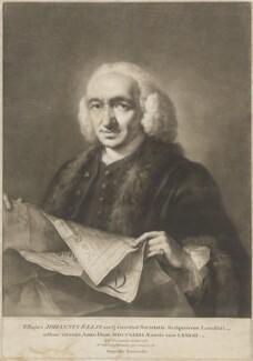 John Ellis, by William Pether, after  Thomas Frye - NPG D13263