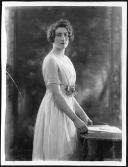 Lady Mary Angela Scott (née Wellesley), by Bassano Ltd - NPG x121533
